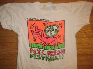 T Shirt Keith Haring : vintage 1984 keith haring hip hop run dmc fat boys t shirt ~ Melissatoandfro.com Idées de Décoration