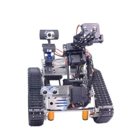 xiao r wifi robot arm car with gimbal raspberry pi 3 built in bluetooth wifi module