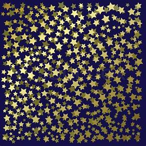 Abstract background with gold stars on a black | Stock ...