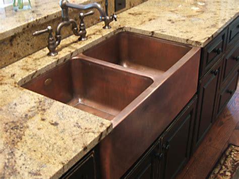 drop in kitchen sink single bowl copper kitchen sinks signature kitchen copper sink