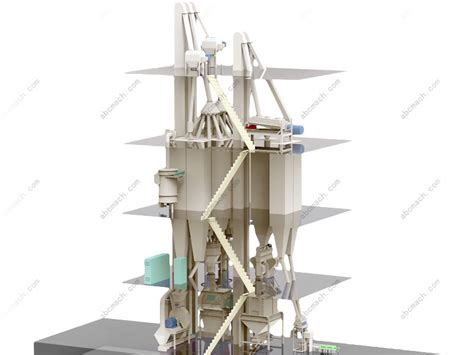 feed milling equipment for complete animal feed production plant