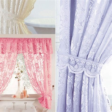fancy swag shower curtain tags shower curtains