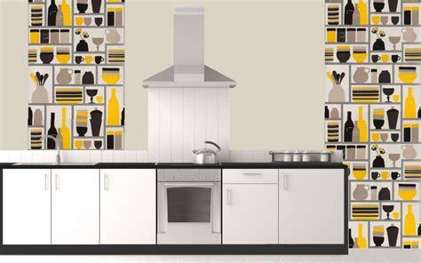 papiers peints cuisine vinyle papiers peints cuisine finest papier peint vinyle