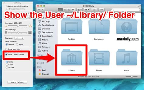 Tip To Access The Library Folder In Os X El Capitan And Yosemite Quickly » Macdrug