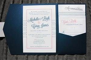 Dots stripes archives page 2 of 11 emdotzee designs for Royal blue and coral wedding invitations