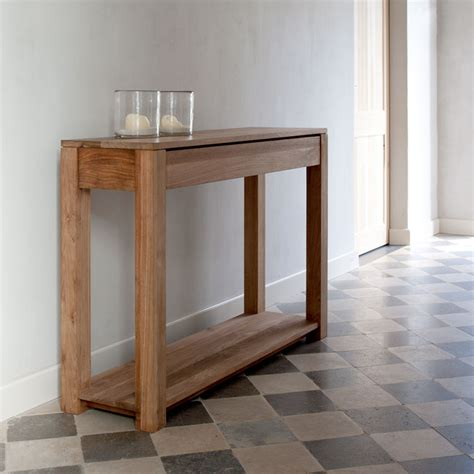 Slim Entryway Table by Slim Console Tables That Will Add The Sophistication Of