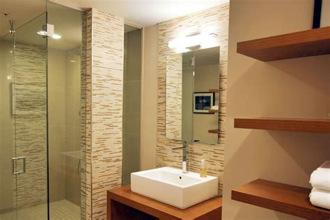 interior small home design small bathroom remodel ideas shelves derektime design