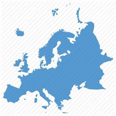 Europe Continent Icon Map European Location Navigation
