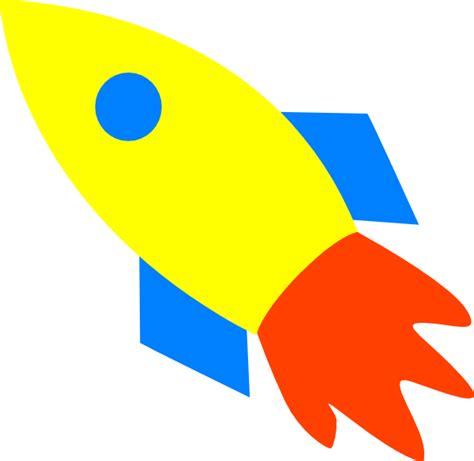 Rocket Ship Clip Rocket Ship Yellow Clip At Clker Vector Clip
