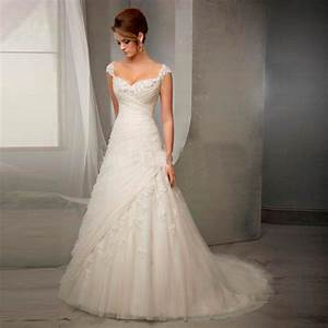 aliexpresscom buy elegant lace wedding dresses v neck With fancy wedding dress