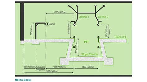 pit dimensions herringbone bail and pit design dairynz