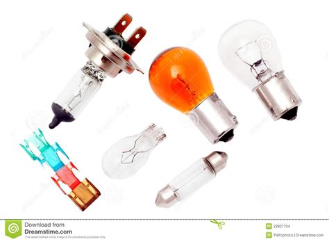 Car Bulbs And Fuses. Stock Photo. Image Of Lamp, Fuses