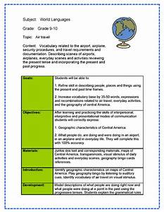 world language lesson plan sample With world language lesson plan template
