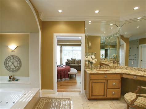 Greek Revival House Plan Master Bathroom Photo 01 Monaco