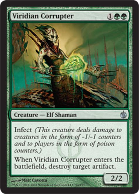 Infect Deck Mtg Legacy by Visual Spoiler Magic The Gathering