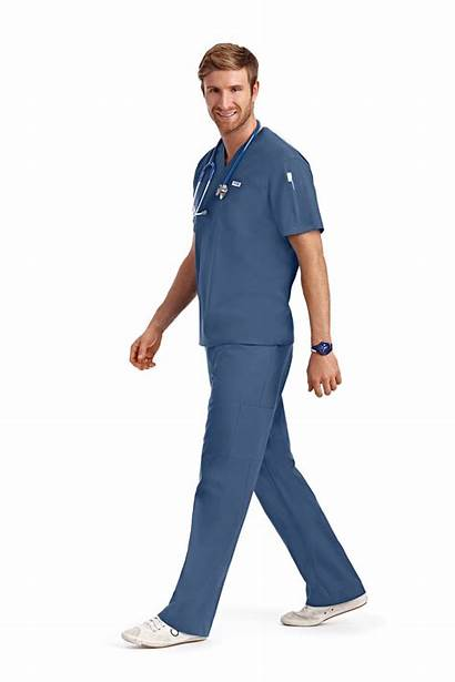 Scrub Medical Unisex Scrubs Uniforms Wear Drawstring