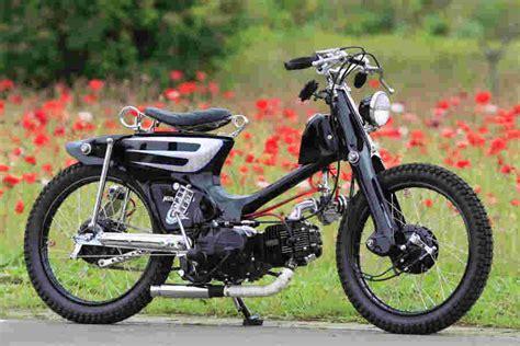 Modif Motor by Modif Modif Keren Motor Klasik C70 Kdtg 1an