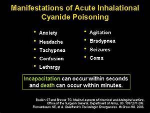 Hydrogen Cyanide Exposure Symptoms Related Keywords ...