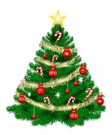 free christmas tree clipart public domain christmas clip art 4 cliparting com
