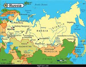 Russia Map Before Revolution