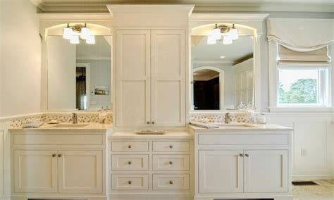 Bath Storage Cabinets Bathroom Vanities With Tower