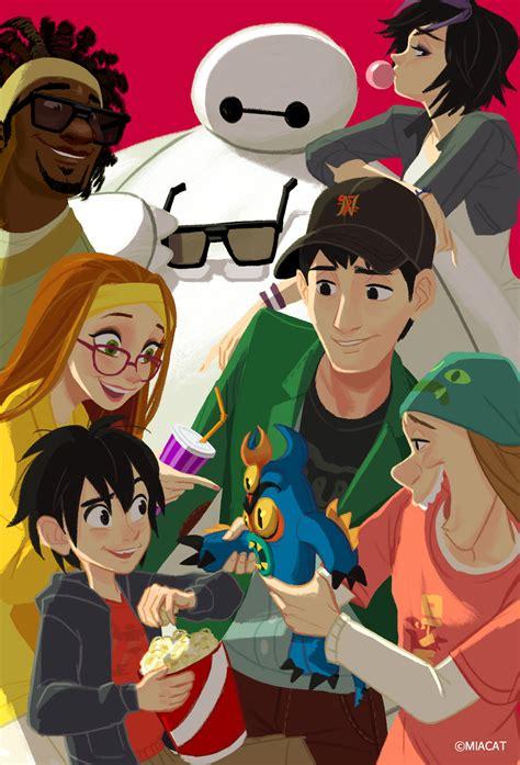 fan art of the week big hero 6 by miacat comics tavern
