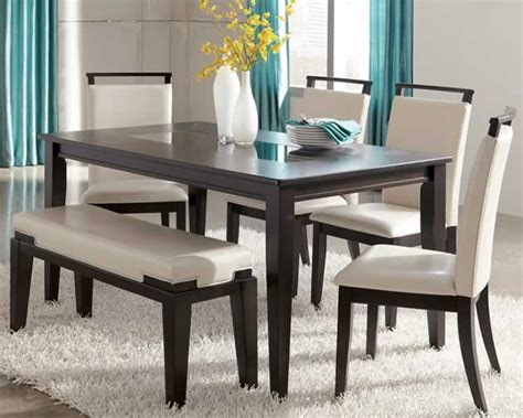 Kitchen Table Sets With Bench by Furniture Kitchen Tables Trishelle Contemporary