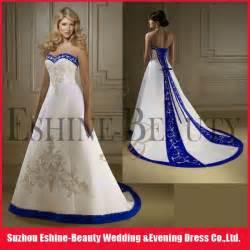 royal blue and white wedding dresses royal blue and white wedding dresses