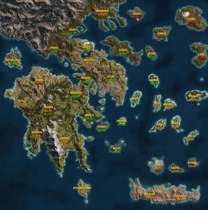 World Map and level requirements in Assassin's Creed ...