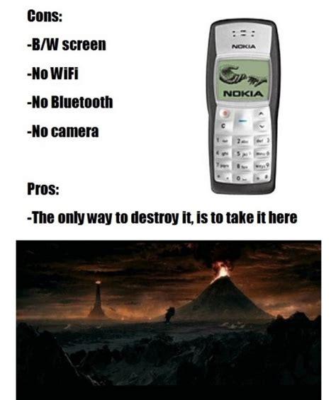 Nokia Memes - image 232769 indestructible nokia 3310 know your meme