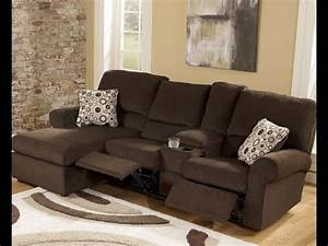 L Sofa : l shaped couch with recliner youtube ~ Buech-reservation.com Haus und Dekorationen
