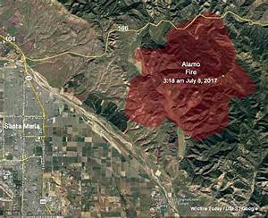 Alamo Fire burns 19,000 acres east of Santa Maria ...