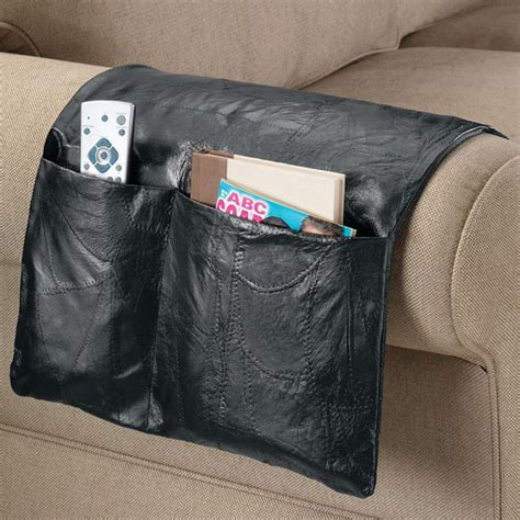Leather Armchair Caddy   Armchair Caddy Organizer   Easy