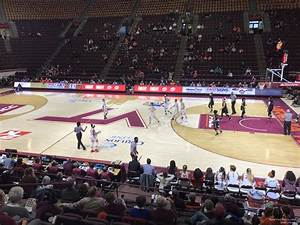 Section 10 At Cassell Coliseum Rateyourseats Com