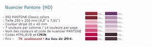 Code Couleur Pantone : code couleur cmjn pantone ~ Dallasstarsshop.com Idées de Décoration