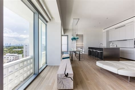 breezy miami beach apartment  home decor minimalists