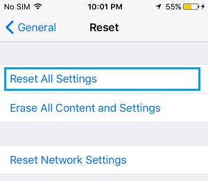 iphone reset all settings how to fix repeated apple id verification pop ups on iphone