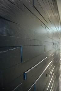 Revêtement Mural Intérieur : black rev tement mural en pierre by artesia ~ Melissatoandfro.com Idées de Décoration