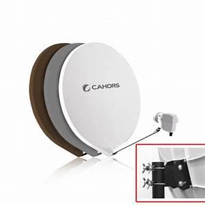 Tv 80 Cm Blanche : parabole fibre cahors smc 80 cm blanche monture metal ~ Teatrodelosmanantiales.com Idées de Décoration