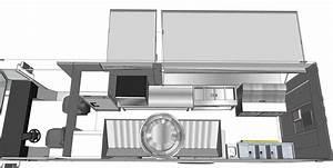 Custom Food Trucks 3d Floor Plan Step Van Truck Ft ~ arafen