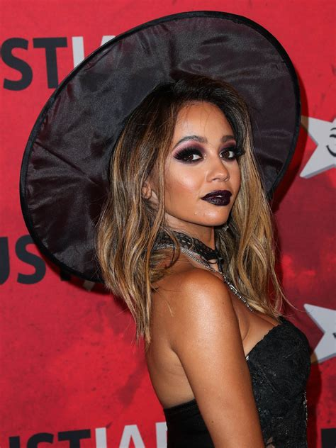Vanessa Morgan Sexy In Halloween Outfit 19 Photos The