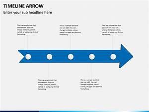 Timeline Arrow Diagram Powerpoint Template