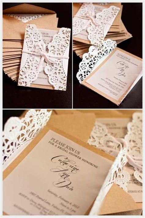 lace doily diy wedding invitations casamento wedding