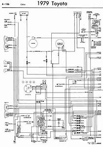 Toyota Celica A40 1979 Wiring Diagrams
