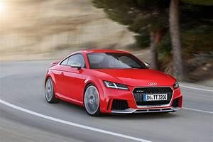 Audi Tt Rs Coupe : 2017 audi tt rs roadster and coupe bow in beijing with 400 ~ Nature-et-papiers.com Idées de Décoration
