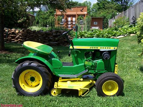 deere garden tractor tractordata deere 110 tractor photos information