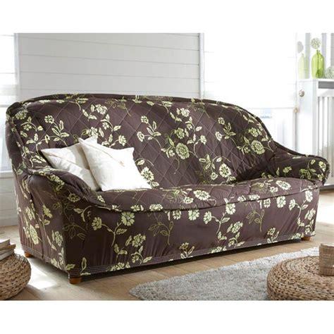 housse de canapé chocolat housse canape 3 places maison design modanes com