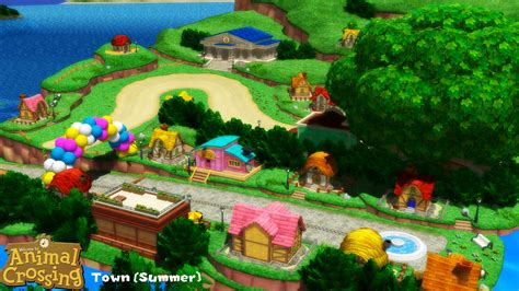 Mmd Stage Town Summer Download By Sab64 On Deviantart