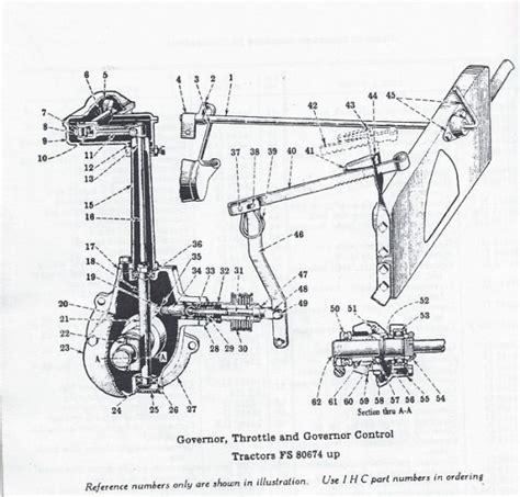 Farmall H Governor Diagram by Govenor Part Rice Equipment Inc