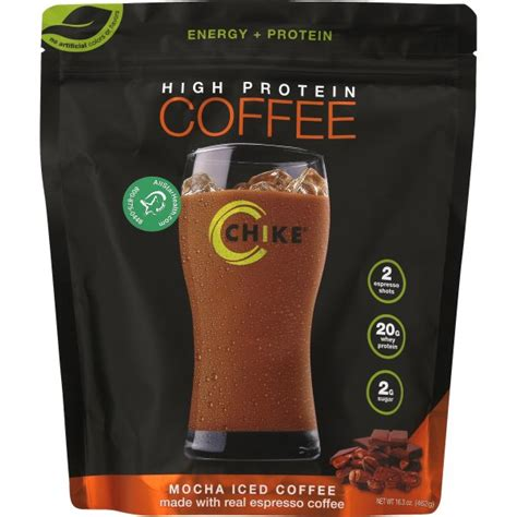 Everything you need to start the day off right. Chike Nutrition High Protein Coffee Mocha - 14 Servings - Walmart.com - Walmart.com